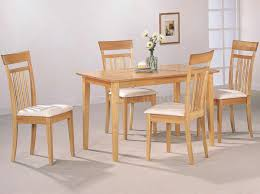 Maple Kitchen Table And Chairs Light Dining Table With Dark Chairs A Gallery Dining