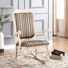 padded rocking chair. Interesting Chair Padded Rocking Chair In D