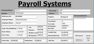 How To Create Payroll Systems In Excel Using Vba Tutorial