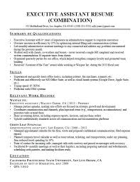 Resume Skill Words Unique Resume Skill Words Qualifications Assistant Summary Letsdeliverco