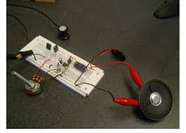 my story magnetic communication project receiver amplifier