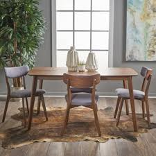 henry 5 piece wood dining set light wood dining set9