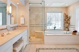 master bedroom addition. master bath addition with natural stone and tile carpet in groton, ma bedroom r