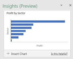 Flash Charts In Excel Excel Artificial Intelligence Comes To Excel Strategic
