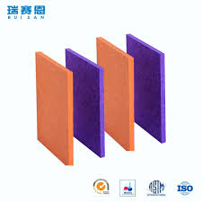 new goods soundproofing materials polyester fiber acoustic interior wall panelings