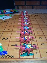 Wooden Horse Racing Game Anyone know the Wood Horse Racing Game 47
