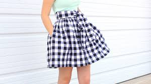 Skirt Patterns With Pockets Gorgeous How To Sew Pockets Into A Skirt Or Dress YouTube