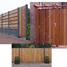 metal gate frame with cladding on