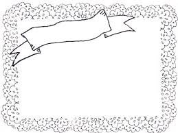 フリー素材フレームモノトーンのレトロなリボンの見出しとレースが