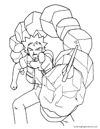 Onix Pokemon Coloring Pages