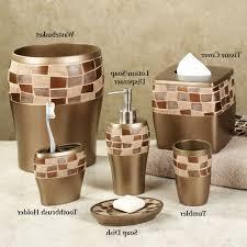 Brown Bathroom Accessories Beige Bathroom Accessories Bathroom Home Decor