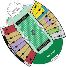 Wake Forest Stadium Seating Chart Wake Forest Online Ticket Office Seating Charts