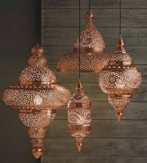 moroccan inspired lighting. bright copper moroccan hanging lamp candles u0026 lightsu2026 inspired lighting t