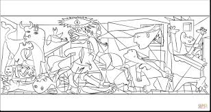 Small Picture Picasso Coloring Pages itgodme