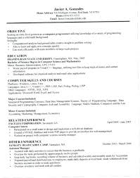 Computer Science Resume Impressive Science Resume Computer Science Resume Examples Science Resume Words