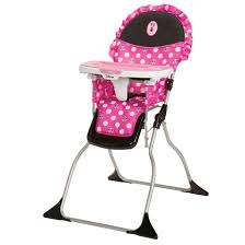 Disney Fast Pack High Chair Minnie Dot