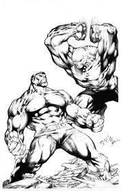 Hulk Pin Up By Ed Benes