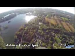 Lake Leann Aerial Flyover Youtube
