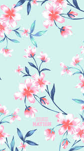 Girly Pink Flower iPhone Wallpapers ...