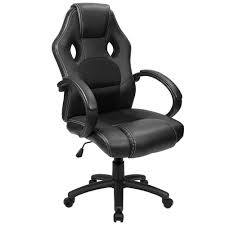 cheap office chairs amazon. Amazon.com: Furmax Office Gaming Chair Leather Desk Chair, High Back Ergonomic Racing Chair,Swivel Executive Computer Headrest And Lumbar Support Cheap Chairs Amazon A