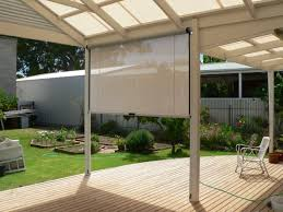 shades white rectangle contemporary canvas outdoor shade blinds stained ideas exciting outdoor shade blinds