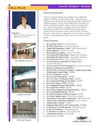 Interior Design Resume Examples Homedecoratorspace Com Best Cover L