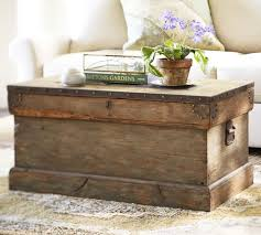 coffee table diy pottery barn inspired trunk livingroomsfamilyroomtrunk coffee tablestrunk end tables for living room