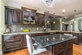 granite kitchen island installed