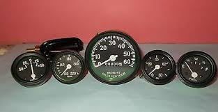 ford fuel gauges zeppy io willys mb jeep ford cj gpw gauges kit speedometer temp oil fuel