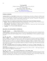 College Professor Resume Example Cover Letter Samples Cover