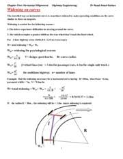 Widening-and-superelevation2 - Chapter Five Horizontal Alignment ...