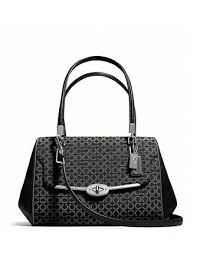 Coach Madison Small Madeline Satchel in Op Art Fabric