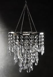 picturesque impressive hanging crystals for chandeliers 25 best ideas about on plug in crystal chandelier