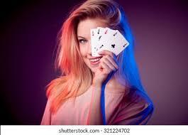Casino Girl Images, Stock Photos & Vectors   Shutterstock