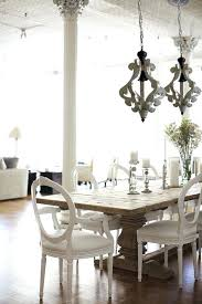 distressed white wood chandelier antiqued white cottage distressed by on