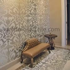 jy13 p03 damasco oro bianco premium silver bisazza mosaic glass wall tile