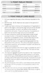 Parlay Card Betting How To Play Parlay Cards Ultimate Guide