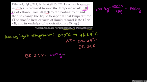 specific heat heat of fusion and vaporization example khan academy