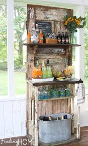 diy rustic bar. Delighful Rustic A Rustic Cottage Bar With Banister Supports On Diy I