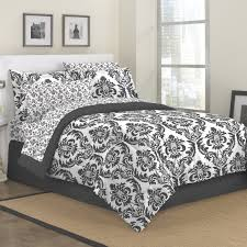 bedding unfor table black and white twin bedding