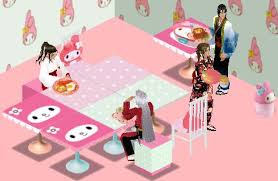 Sims 1 Melody Cafe set - Awesome Expression