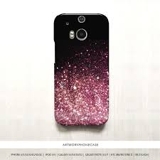 htc one m8 phone case for girls. black pink glitter htc one m8 case m7 by artworkphonecase phone for girls a