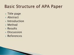 Title Page Apa 2015 Apa Format Cover Page 2015 Core Page