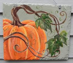 A little painting pumpkin inspiration from etsy.