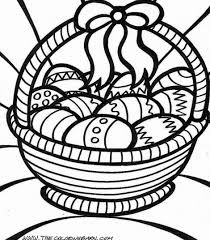 Large Easter Egg Coloring Pages At Getdrawingscom Free For