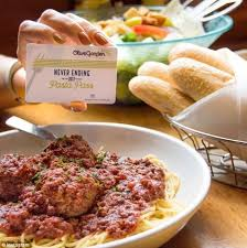 on september 14 olive garden sold passes that entitled people to eight