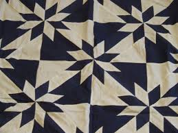 Blue and White Hunter's Star quilt top | Tim Latimer - Quilts etc & I ... Adamdwight.com