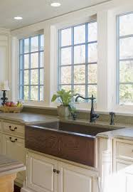 Kitchens With Farmhouse Sinks Large Stainless Apron Front Kitchen Sink With Double Drainages