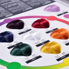 Hair Color Wheel Chart Professional Hair Dye Color Chart With Color Wheel