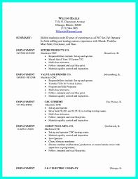 Cnc Machinist Resume Best Of Machinist Resume Template Fresh New Cnc